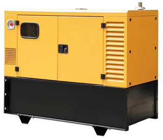 Silent Generator for Telecom with 1000L fuel tank