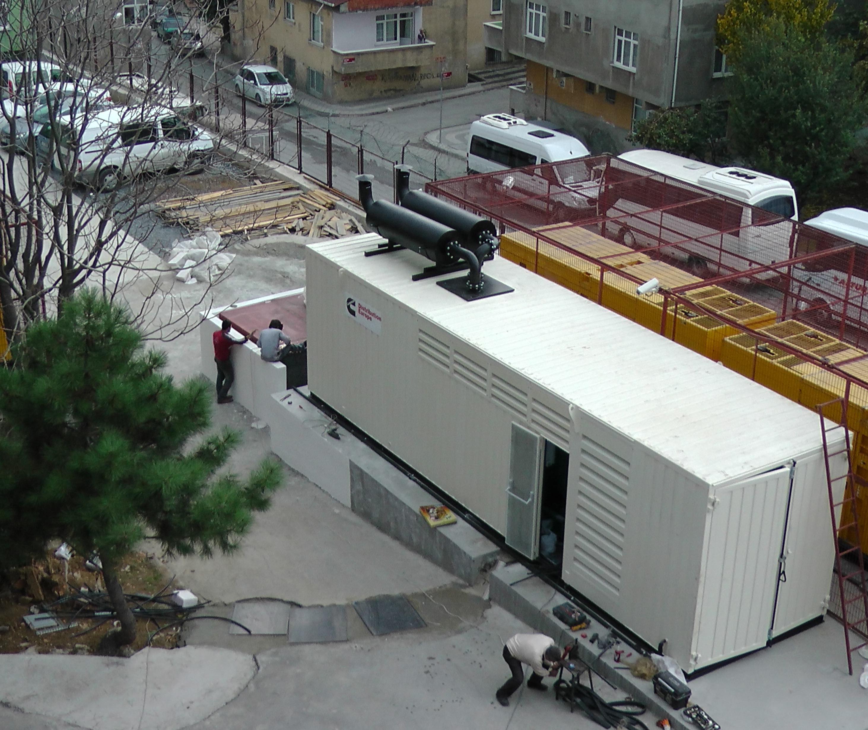 2. Generator for Data Center