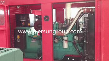 2 units 180KW Cummins diesel generator with weather proof shipped to Vietnam
