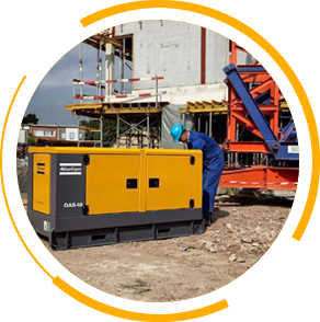Generator for construction & Building