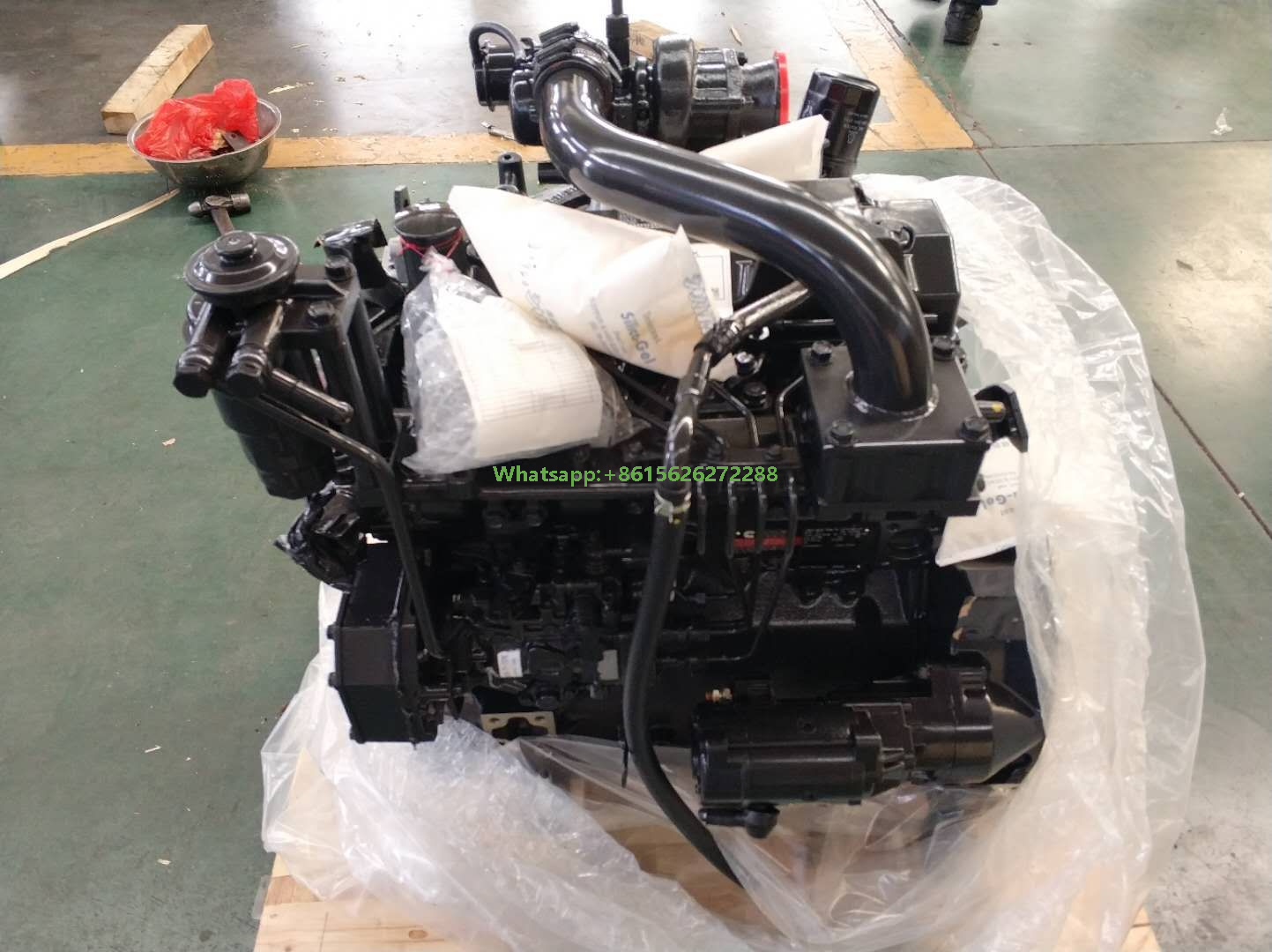 Cummins Industrial Engine B3.3 60-85 Hp 45-63 KW